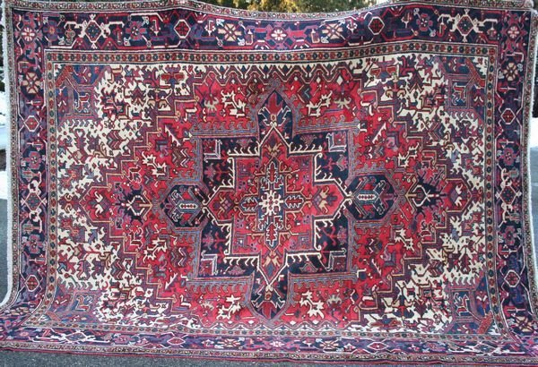 "4010: Exceptional Persian Rug, 10' 6"" x 8'."