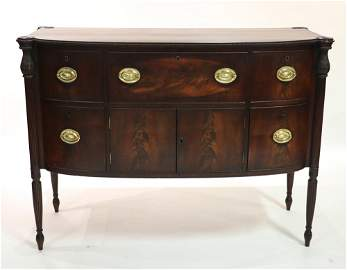 Sheraton Brandy Sideboard w/ Butler's Drawer