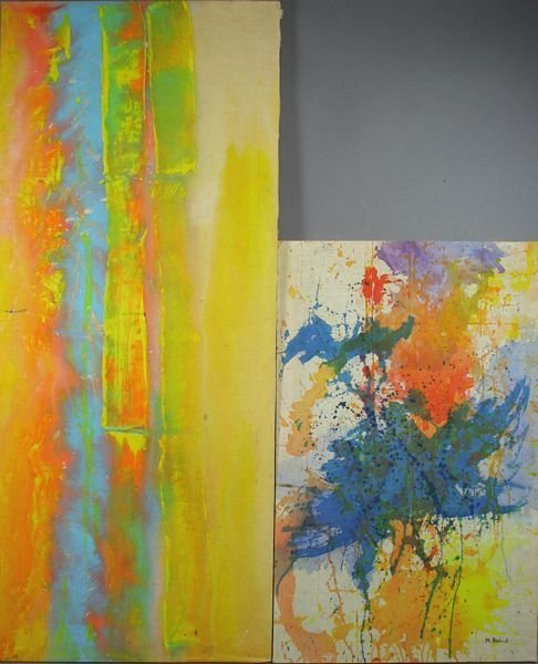 3012: (2) Abstracts, Signed M. Axelrod and R. Bill