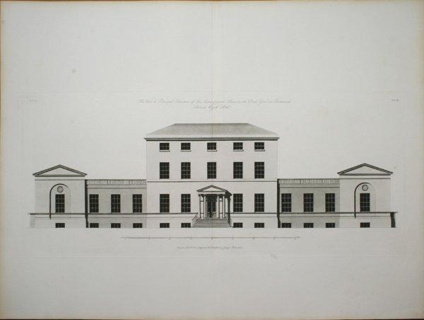 3019: ARCHITECTURAL ELEVATION -  AQUATINT, C.1803
