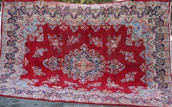 "4005R: Fine Persian Rug, 13' 4"" x 9' 10""."