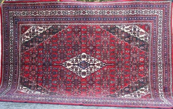 """4030R: Persian Rug, 11' 6"""" x 8' 8""""."""