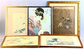 Group of Asian Artwork