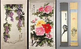 Chinese and Japanese Scroll Paintings