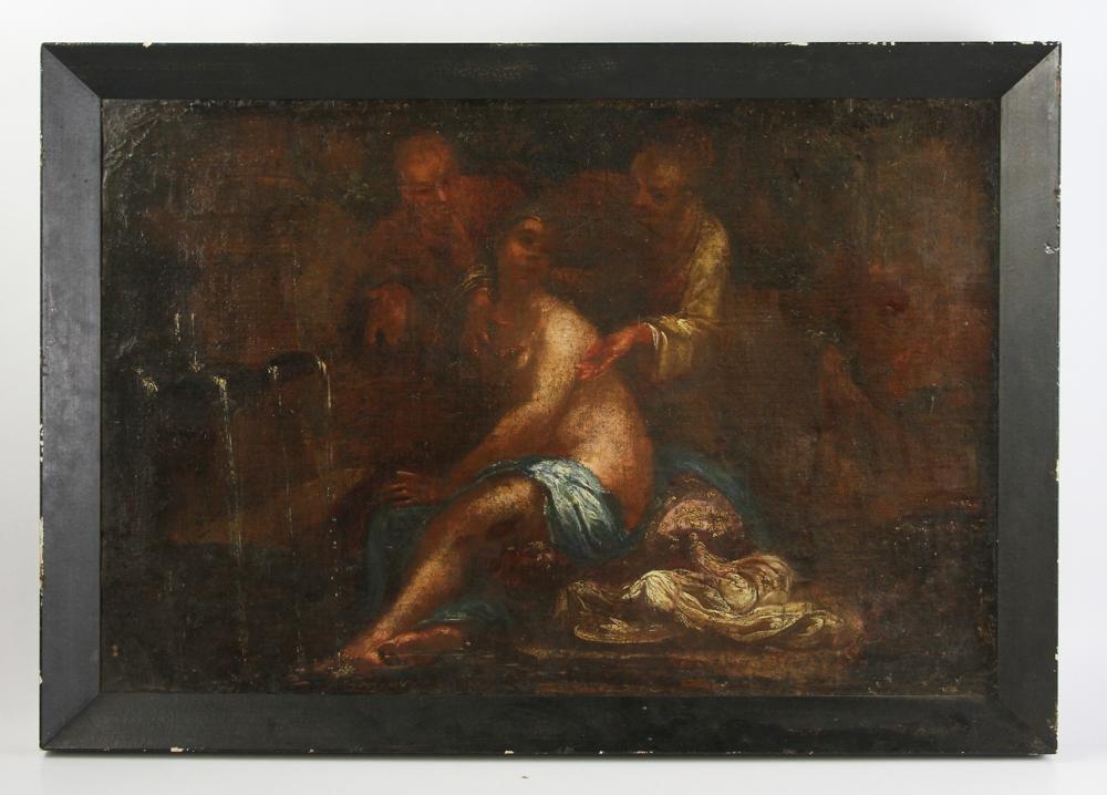 18thC Italian School, Susanna and the Elders