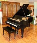 Steinway & Sons Black Model B Grand Piano