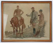 Paul Desmond Brown, Hunters and Hound