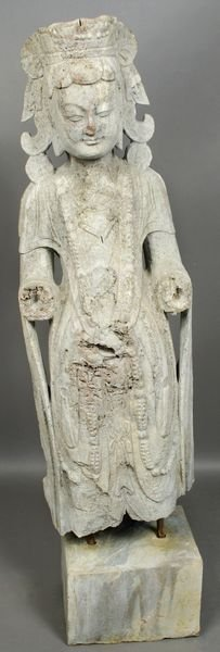 1089A: Old Chinese Carved Stone Figure