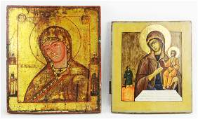 Two 19thC Russian Icons