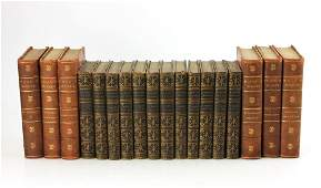 Volumes of Hugo's Works and The Works of Lord Bryon