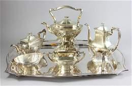 Six Piece Sterling Tea Set by Gorham