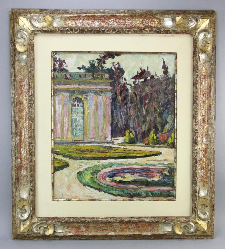 Signed Joseph Raphael, Garden Landscape