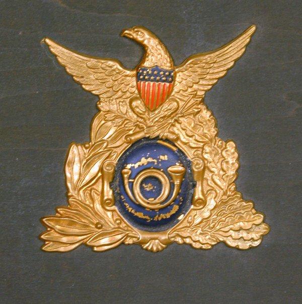 7: CIRCA 1860  AMERICAN PLAQUE