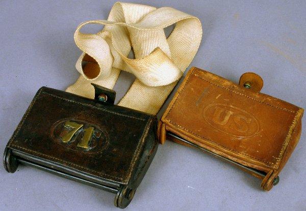 15: TWO U.S. CARTRIDGE BOXES 1903