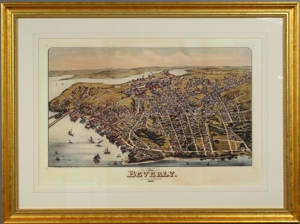 2001: 20th C. Print of Beverly, Massachusetts 1886