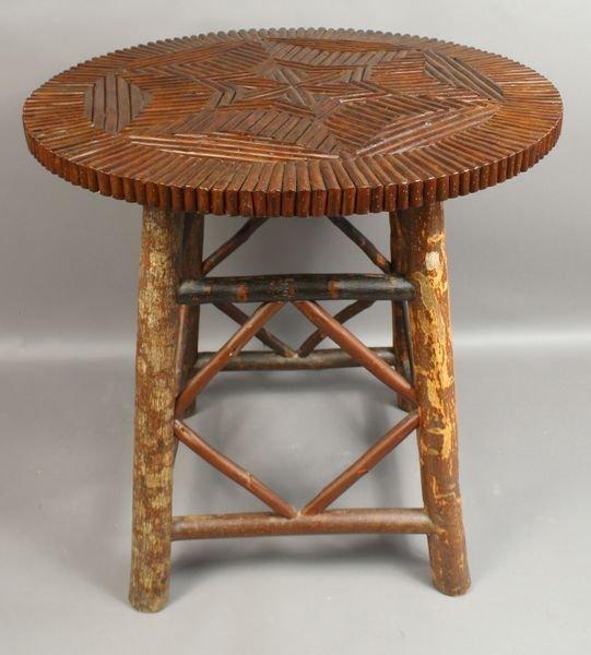 2012: 20th Century Adirondack Twig Table
