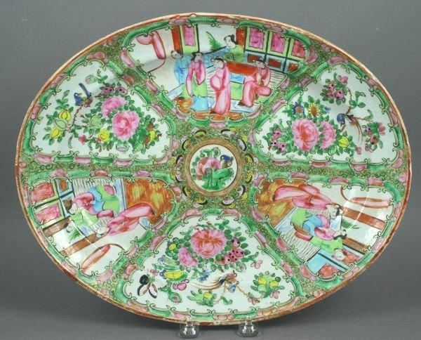 2015: Late 19th Century Rose Medallion Platter