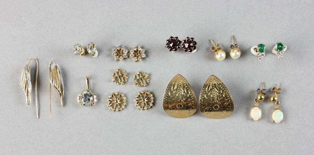 Collection of 14K Gold Jewelry Pieces