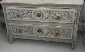 French Provincial Style Two Drawer Chest