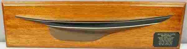 3101 20th C Model of King George Vs Royal Yacht Bri