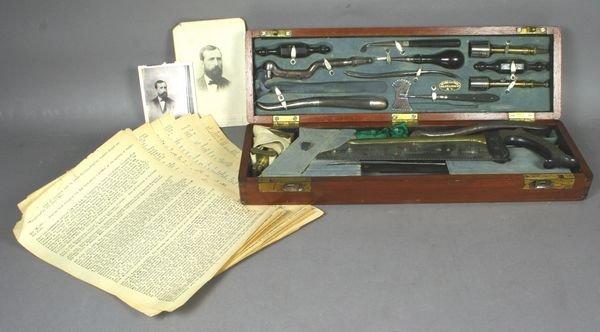 4054: Civil War Surgeon's Kit,Dr. Lewis Whiting,Virgini
