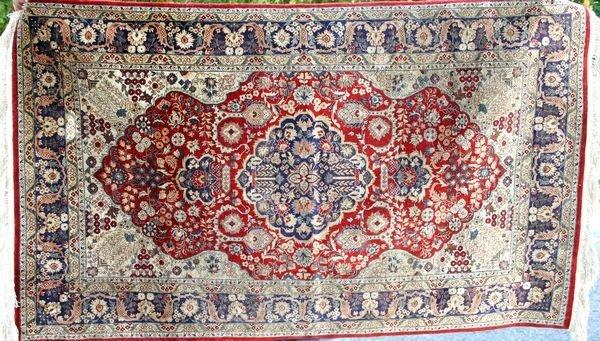 "5013: Oriental Rug, 3' x 5' 9"""