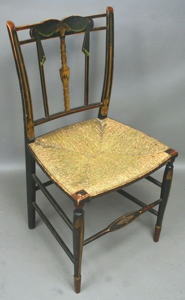 5014: Rare Early 19thC Boston Chair attrb John Seymour