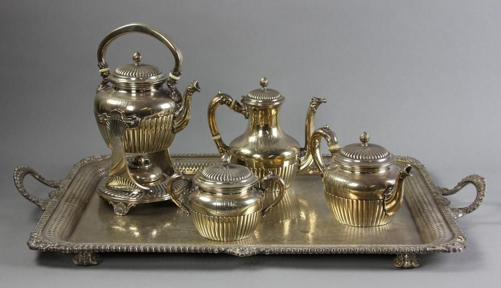 Gorham Sterling Tea and Coffee Set