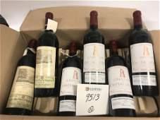 Box of (12) Bottles of Wine