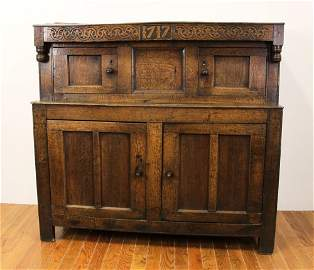 England North Country Court Cupboard