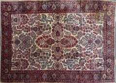 Antique Fine Persian Sarouk Rug