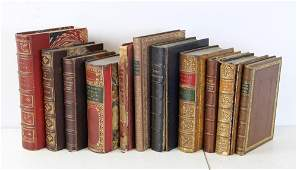 Group of Antique Leather Bound Books