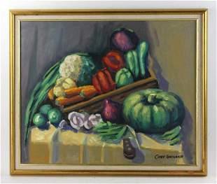 Gary Hartenhoff Still Life Oil on Canvas