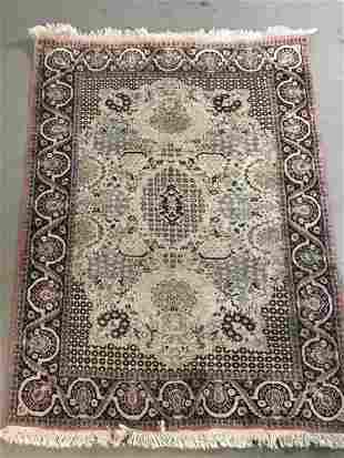 Fine Turkish Tabriz Style Hand Woven Rug