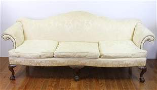 19thC Chippendale Style Sofa