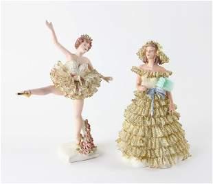 Ceramic Ballerinas