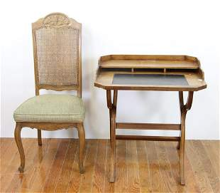 English Desk and Chair