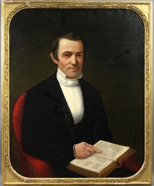 1003: Greenleaf, New Hampshire Portrait, Minister,o/c