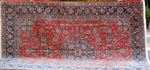 "1006: Early 20th C. Sarouk Rug, 15' 1"" x 10' 6"""