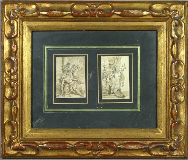 1007: 16/17thC Italian or Flemish Old Master Drawings