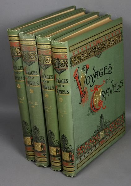 6B: 4Vols. Voyages and Travels, Boston 1887