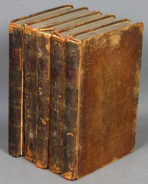 16B: 5Vols. Anecdotes of Painting in England, 1786