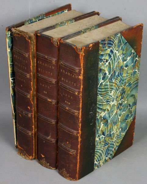 20B: 3Vols. The Thousand and One Nights, 1889
