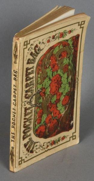 21B: Rare- The Pocket Carpet-Bag, Boston, 1853