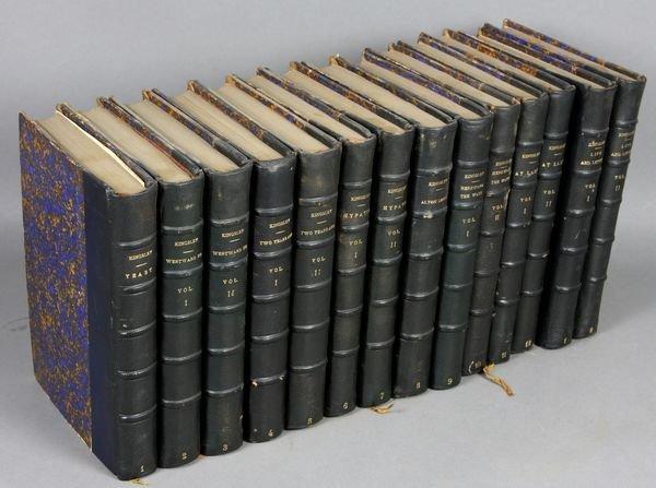 22B: 14Vols. Works of Charles Kingsley, 1851-1880