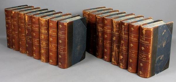 24B: 16Vols. The Encyclopedia Americana, 1903-05