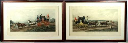 Two (2) 19th/20th C. English Colored Prints