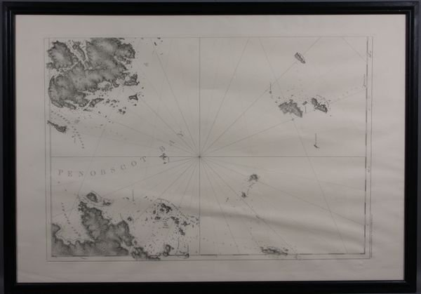 3024: 20th Century Map of Penobscot Bay