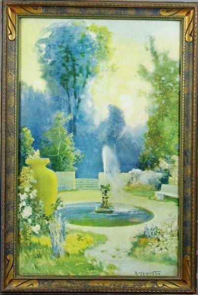 4209: Five (5) R. Atkinson Fox Prints, Framed, C1920 - 3