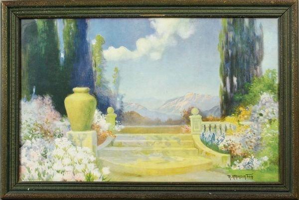4209: Five (5) R. Atkinson Fox Prints, Framed, C1920 - 4